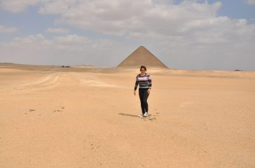 Red pyramid of Dashour