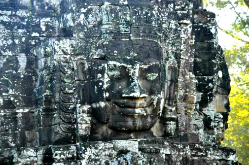 Faces in Bayon Temple