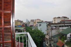 View from balcony hostel
