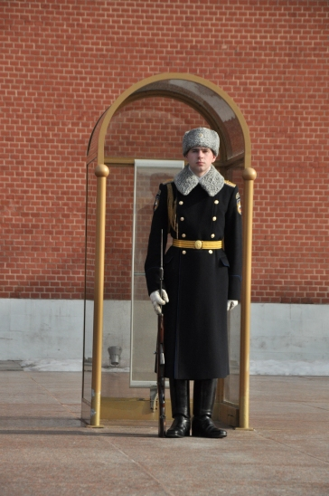 Guarding the Tomb of Unknown Solider