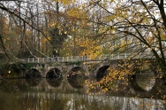 Bridge of Love in Minnewater lake