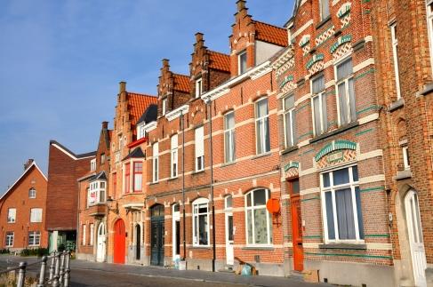 Houses and Buildings in Flanders