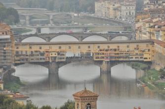 Ponte Vechhio, Ponte Santa Trinita, Ponte Alla Carraia & Ponte Amerigo Vespucci