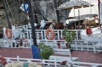boast docked at Titop Island