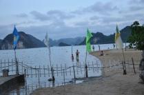 Sand bar in Titop Island