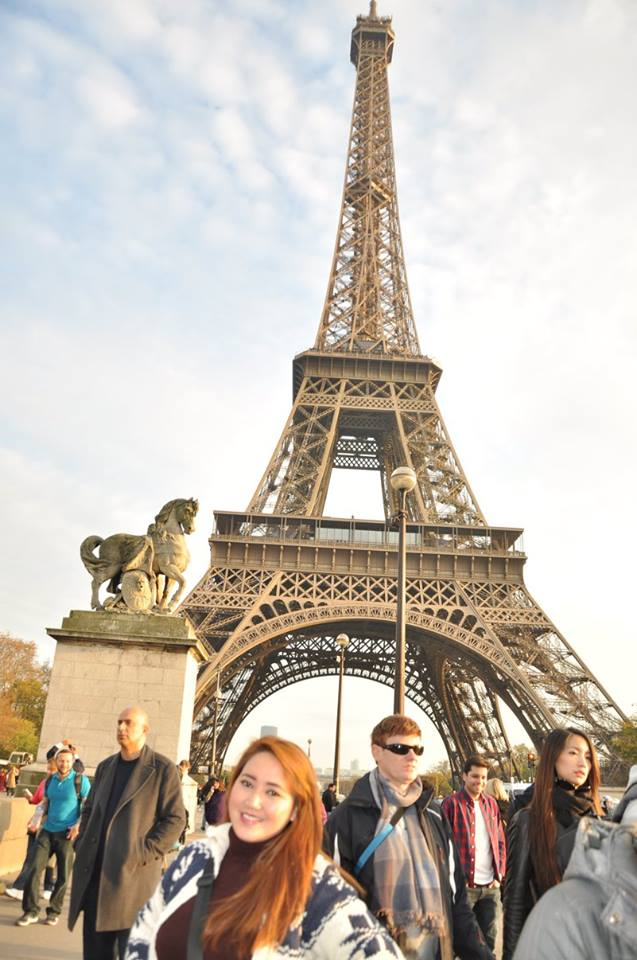 Eiffel in the Morning