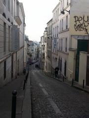 walking around Monmarte