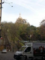 Funicular to Sacre Coeur