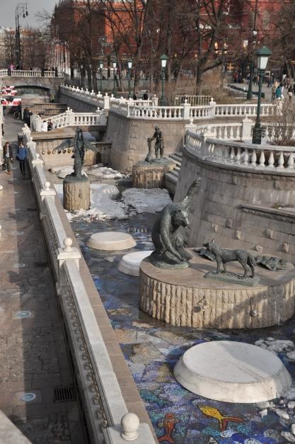 Statues in Alexander Garden