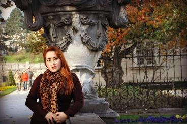 at Mirabell Garden