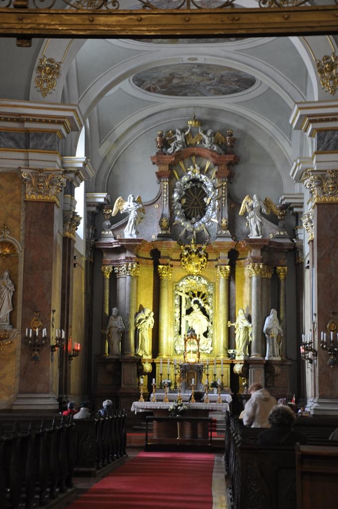 inside franciscan church