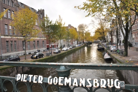 Peter Goeman Bridge in Prinsegracht