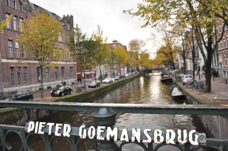 Peter Goeman Bridge in Prinsegracht
