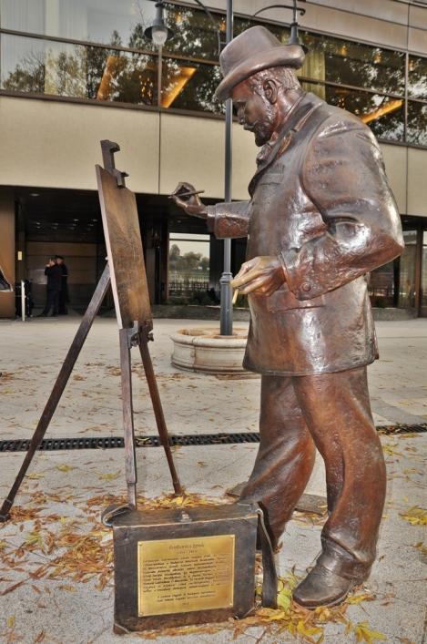 rozkovics ignaz statue
