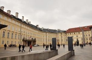 Prague Castle ground