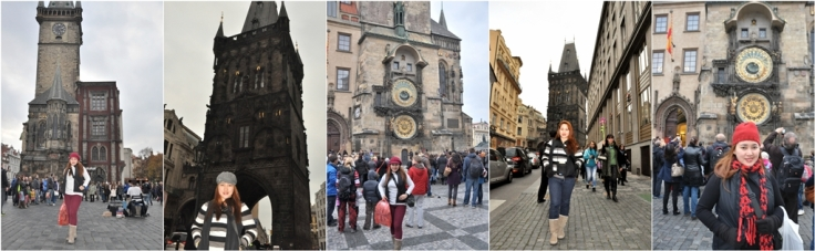 powder and Astronomical clock