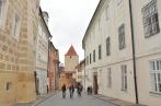 Prague Castle shops & Street