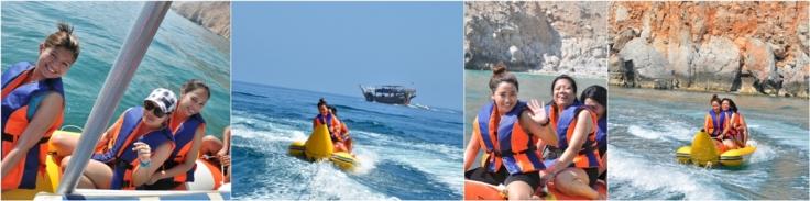 Banana Boat Ride Experience