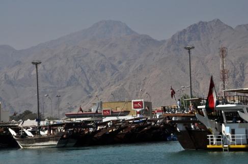 Omani Dhow boats