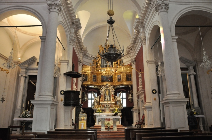 Inside St. Blaise Church
