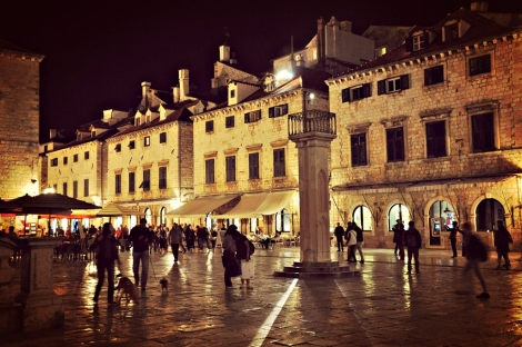 night at square of loggia