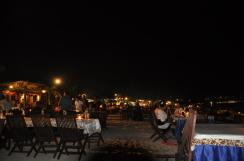 Restaurants at Jimbaran Beach