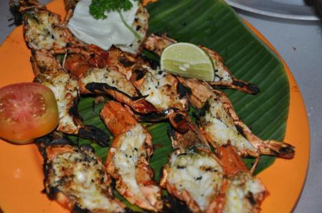 Seafoods Dinne at Jimbaran Beach2