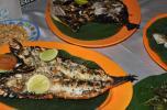 Dinner at Jimbaran Beach