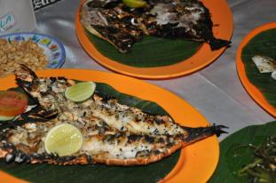 Dinner at Jimbaran Beach