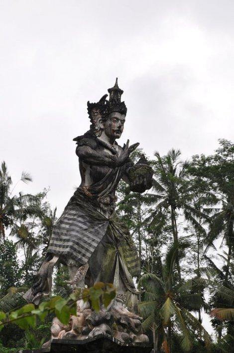 Temple at monkey santuary