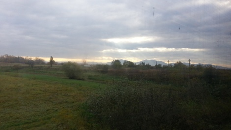 train ride Romania to Serbia