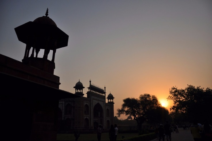 Inside Western Gate-Taj