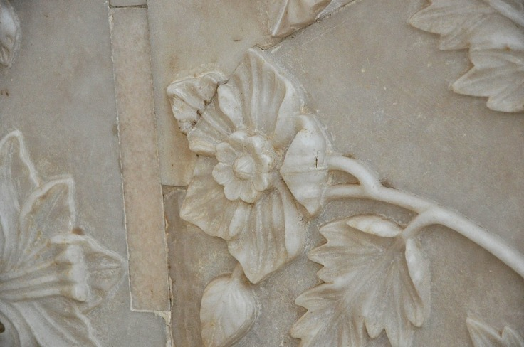 Marble Flower Carvings- Taj Mahal
