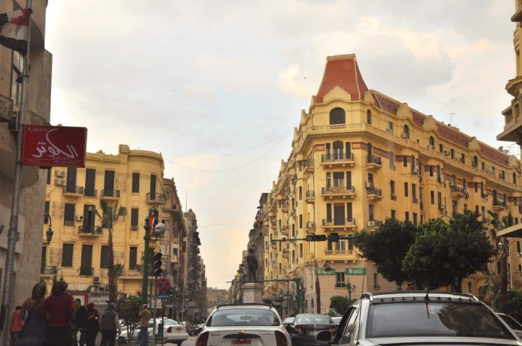 Talaat Harb Street business district