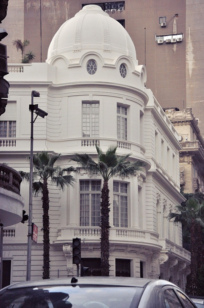 The Egyptian Diplomatic Club on Talaat Harb Street