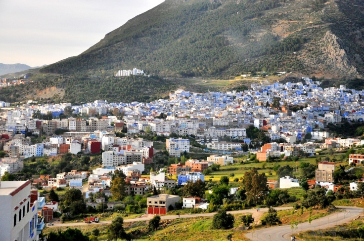 view of Chefchaouen - Copy