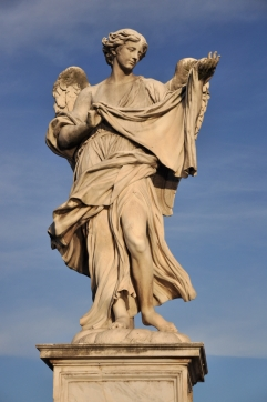 angel with the Sudarium (veronica's Veil)